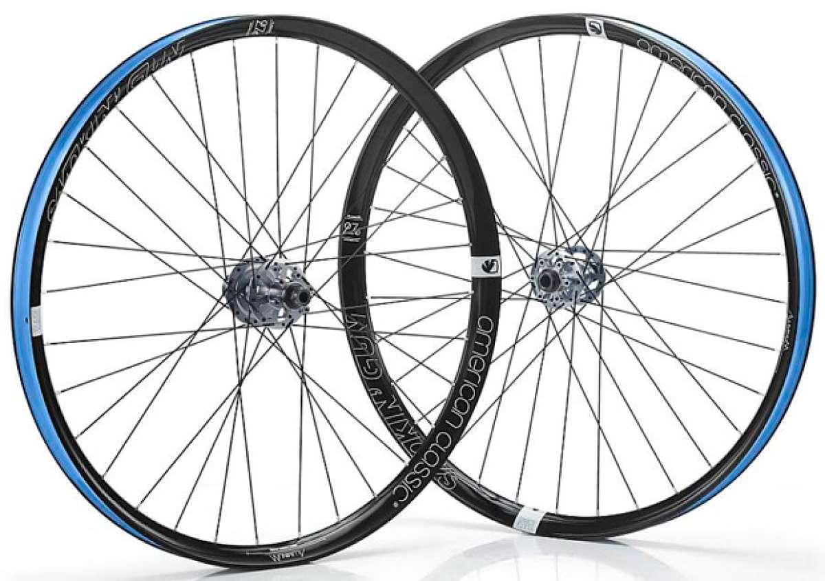 """American Classic Smokin"""" Gun, nuevas ruedas de aluminio con perfil extra ancho"""