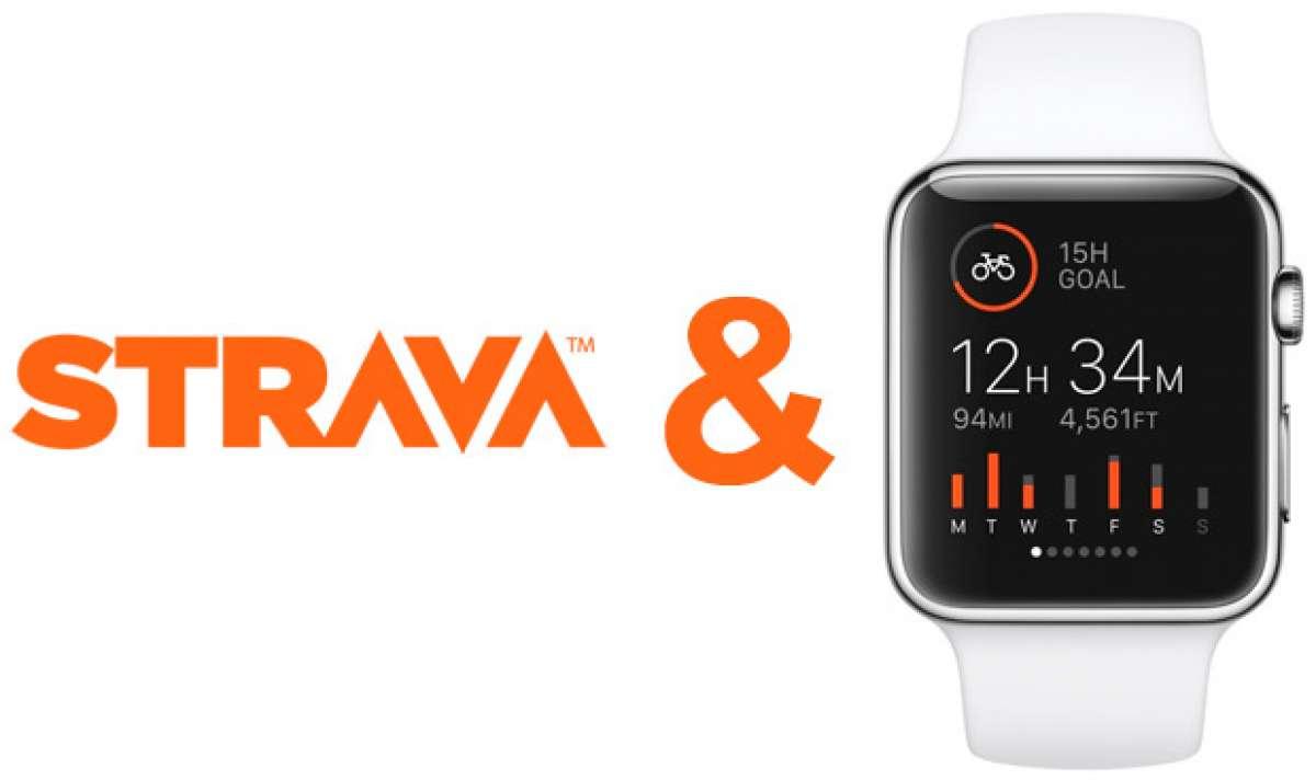 Nueva aplicación de Strava para el esperado reloj inteligente Apple Watch