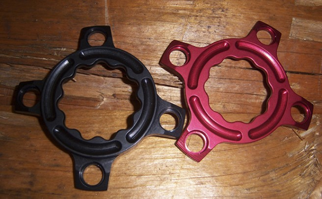 Nuevas arañas Ari Bike para conversiones monoplato de bielas Rotor Rex 2 y Rex 3