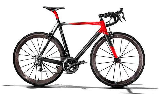 Audi Sport Racing Bike, una exclusiva bicicleta de carretera... con el precio de un turismo