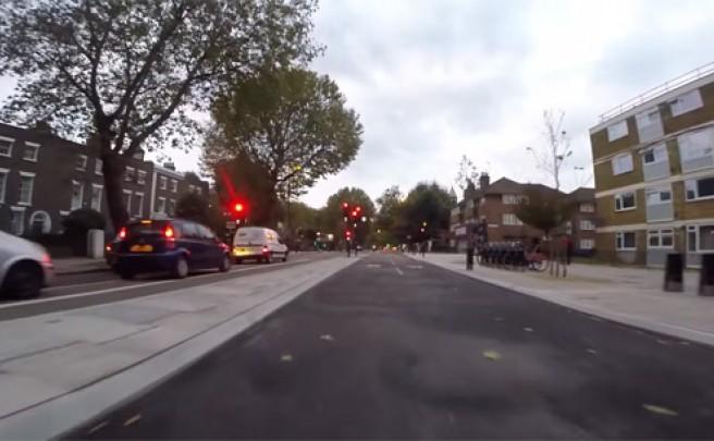 Así es la nueva autopista ciclista de Londres (Reino Unido)