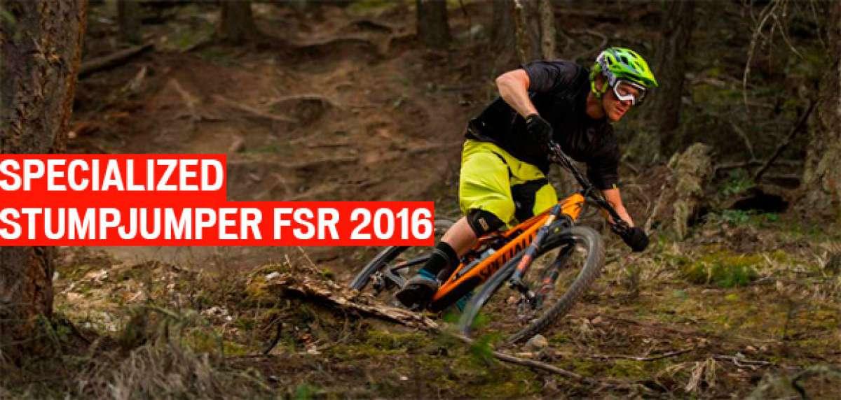 Novedades 2016: Nuevo cuadro y tres medidas de rueda para la Specialized Stumpjumper FSR