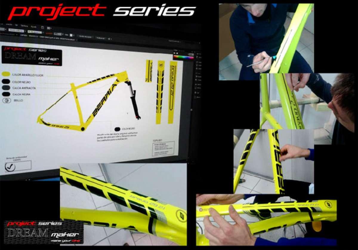 """""""Project Series"""", la nueva apuesta de personalización de Berria Bike"""