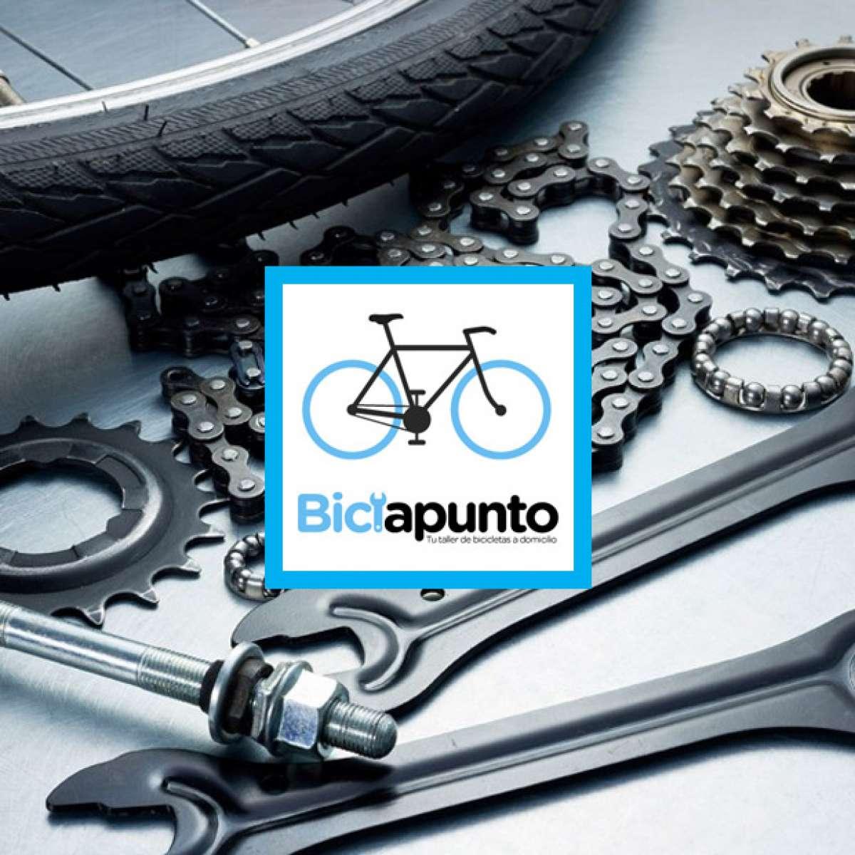 """Biciapunto, un taller de bicicletas """"a domicilio"""" para los ciclistas de Madrid"""