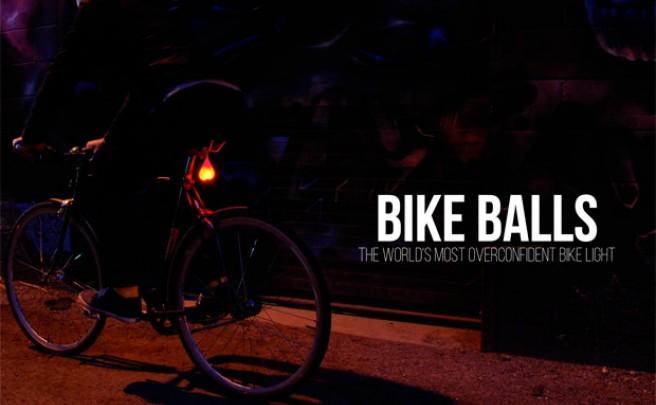 Bike Balls, una creativa (y divertida) forma de iluminar nuestras salidas nocturnas