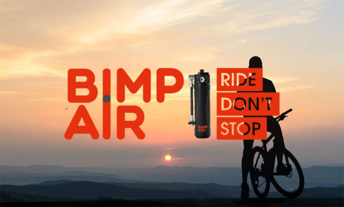 """Bimp""""Air, el primer sistema de inflado autónomo (y recargable) para bicicletas"""