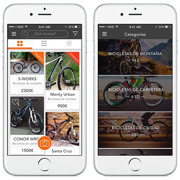 BKIE, una interesante aplicación de compra-venta enfocada a la comunidad ciclista