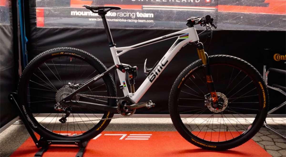 Así es la BMC Fourstroke FS01 de Julien Absalon