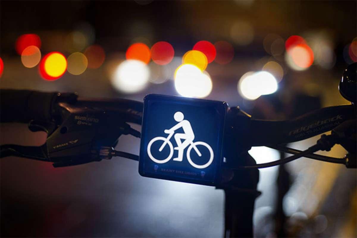 Brainy Bike Lights, unas luces de bicicleta 'subliminalmente' efectivas