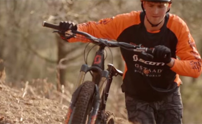 Brendan Fairclough y la nueva Scott Genius 700