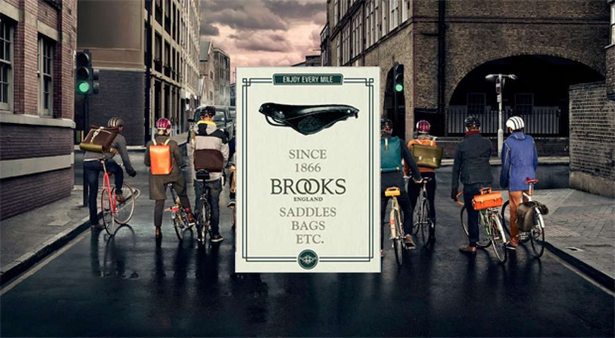 Los míticos productos de Brooks England, ya disponibles en el catálogo de Top Fun Biking