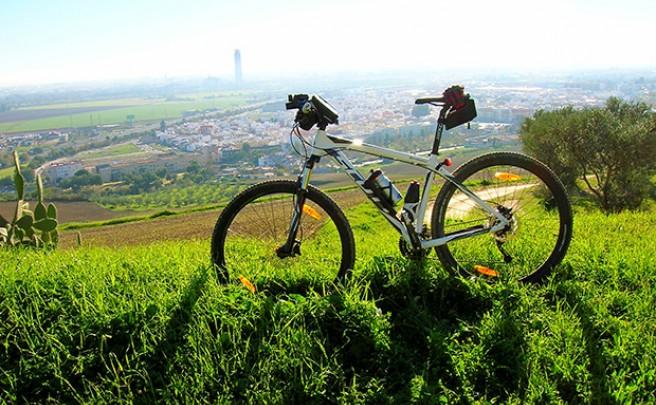 La foto del día en TodoMountainBike: 'Desde Camas (Sevilla)'