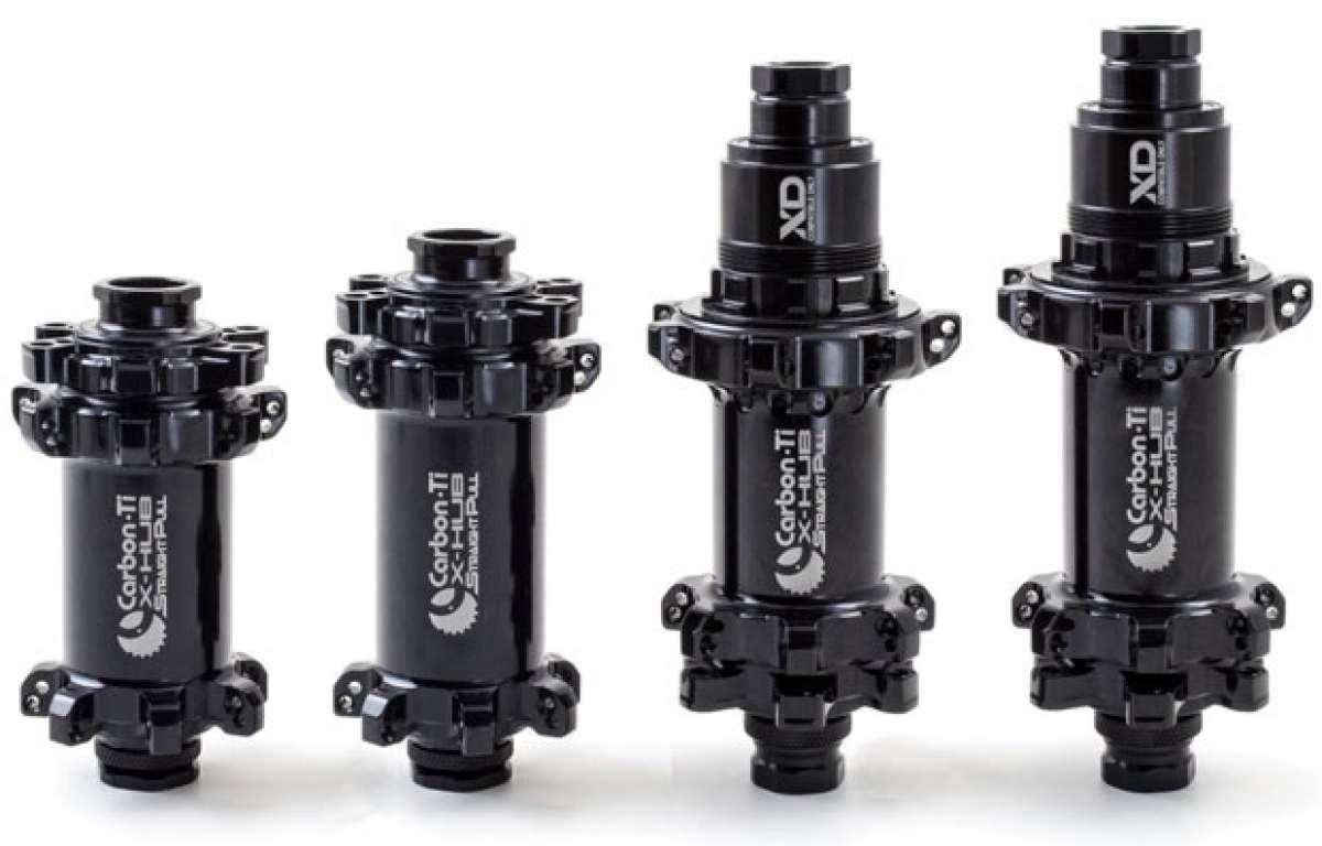 Nuevos bujes ultraligeros Carbon-Ti X-Hub SP