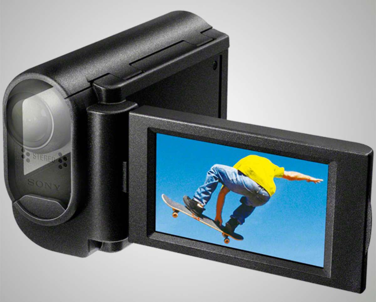 """Nueva carcasa con pantalla integrada para las """"Action Cam"""" de Sony"""