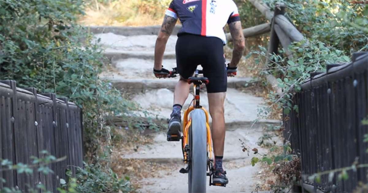 En TodoMountainBike: David Cachon y la nueva 'Carrefour Fat Bike' en acción