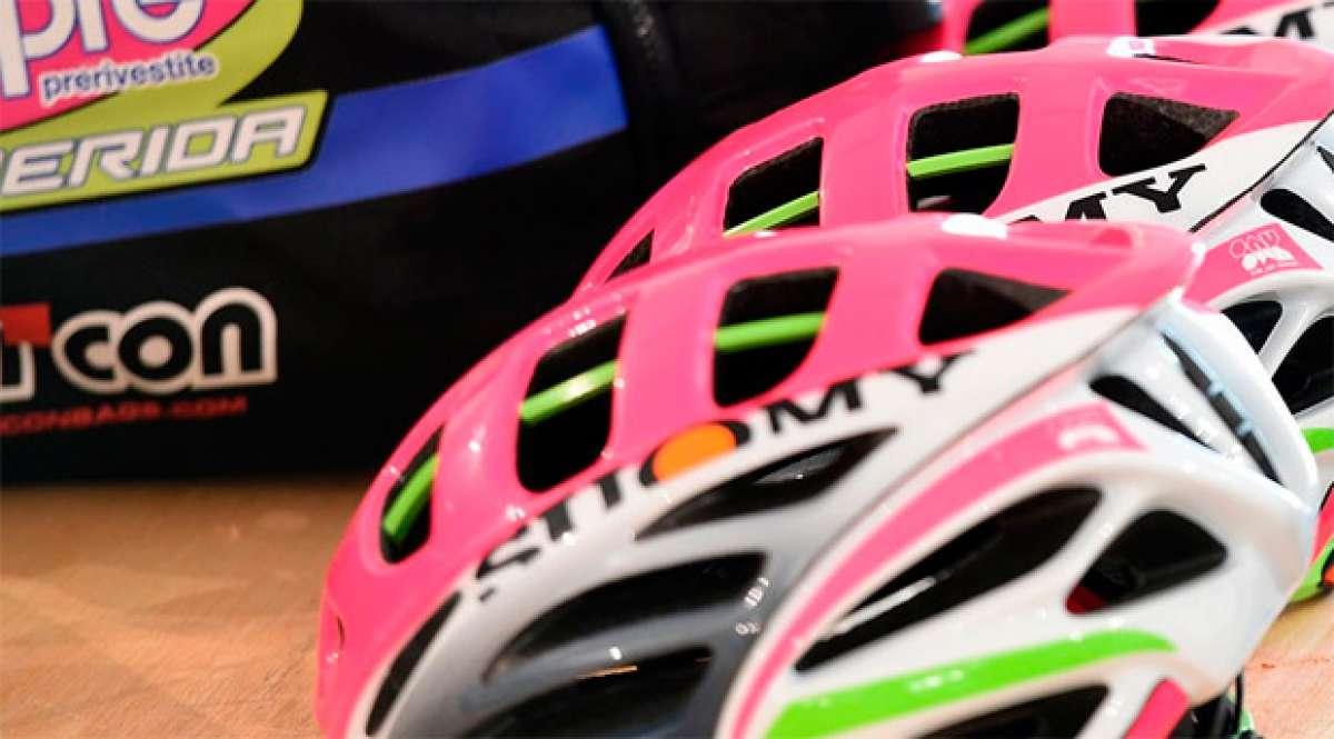 Los cascos para ciclistas de Suomy, distribuidos en España por Merida Bikes