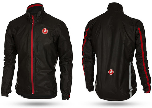 Castelli Idro, una chaqueta impermeable con la última tecnología textil de Gore-Tex