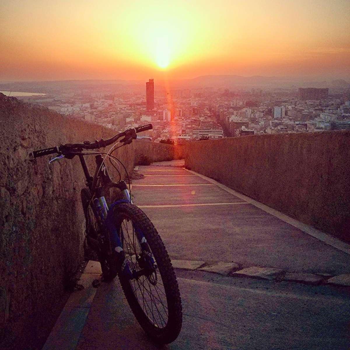 """La foto del día en TodoMountainBike: """"Desde el Castillo"""""""