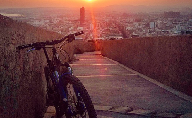 La foto del día en TodoMountainBike: 'Desde el Castillo'