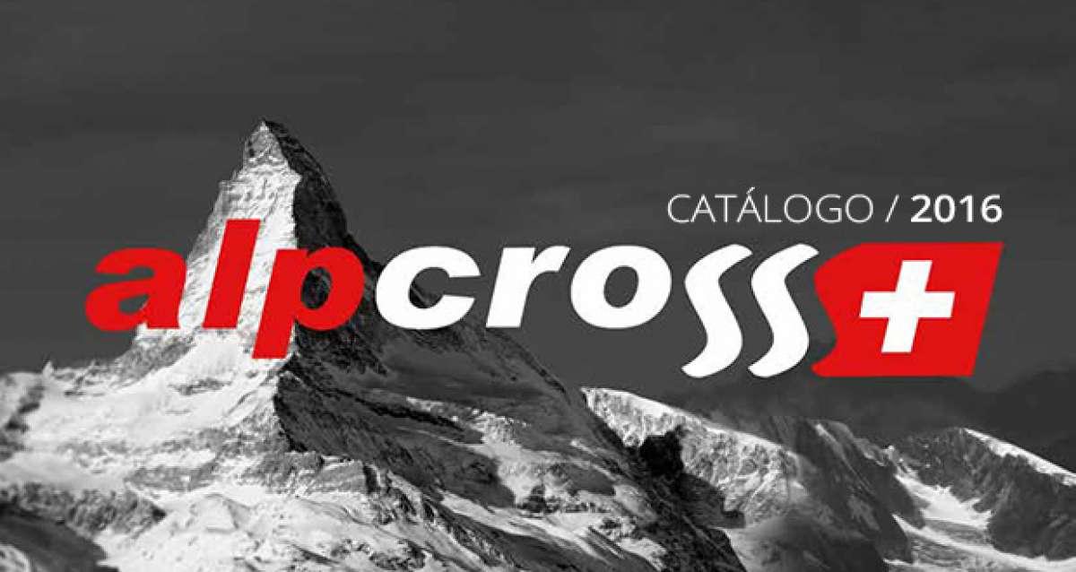Catálogo de Alpcross 2016. Toda la gama de productos (propios y distribuidos) de Alpcross para la temporada 2016