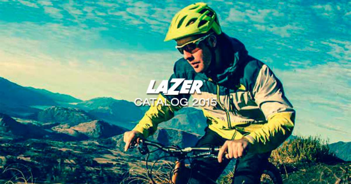 Catálogo de Lazer 2015. Todos los cascos de Lazer para la temporada 2015