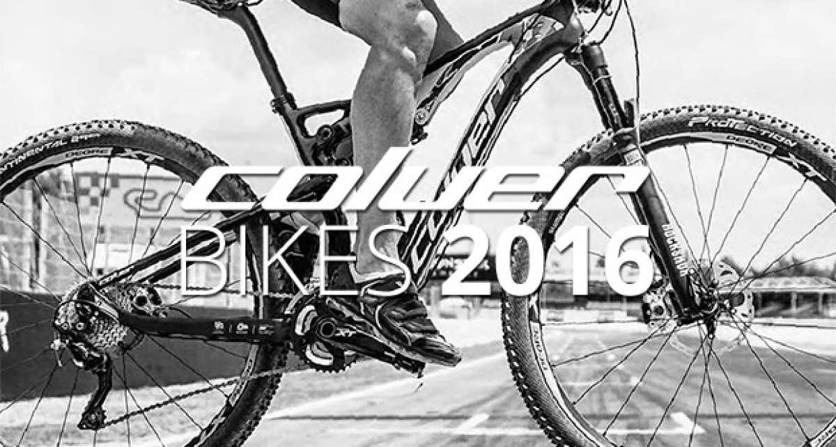 Catálogo de Coluer 2016. Toda la gama de bicicletas Coluer para la temporada 2016