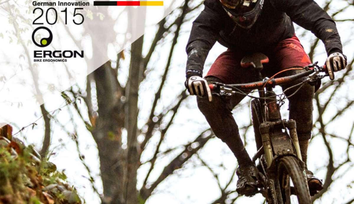 Catálogo de Ergon 2015. Toda la gama de productos Ergon para la temporada 2015