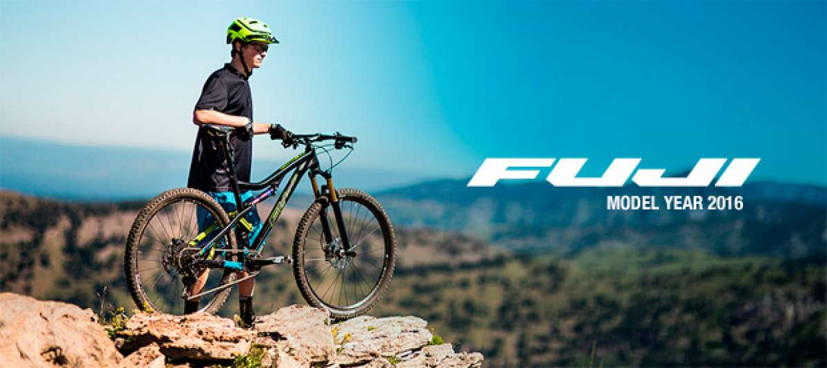 Catálogo de Fuji 2016. Toda la gama de bicicletas Fuji para la temporada 2016