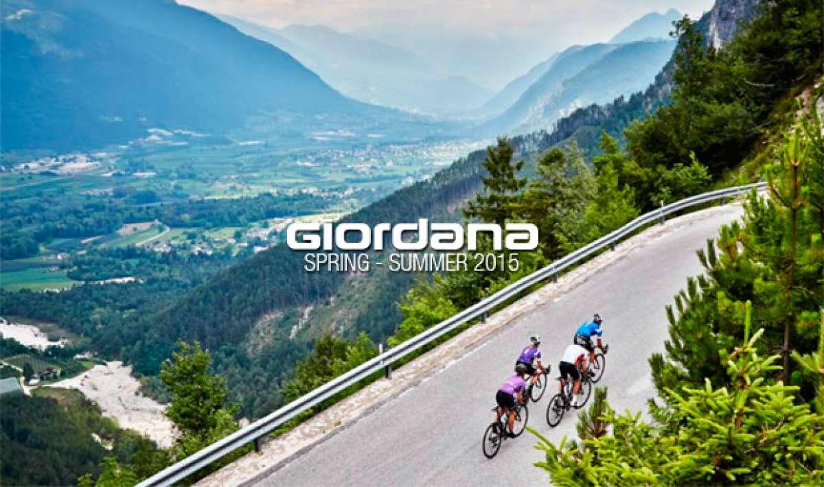 Catálogo de Giordana 2015. Toda la gama de equipamiento Giordana para la temporada primavera/verano de 2015