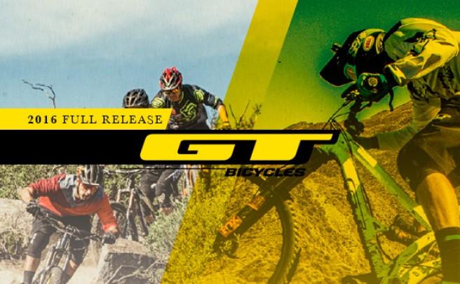 Catálogo de GT 2016. Toda la gama de bicicletas GT para la temporada 2016