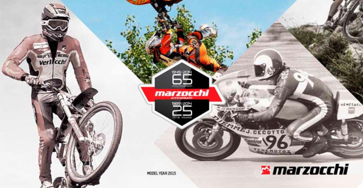 Catálogo de Marzocchi 2015. Todas las suspensiones de Marzocchi para la temporada 2015