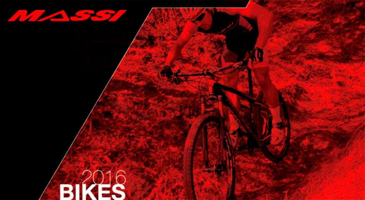 Catálogo de Massi MTB 2016. Toda la gama de bicicletas Massi para la temporada 2016