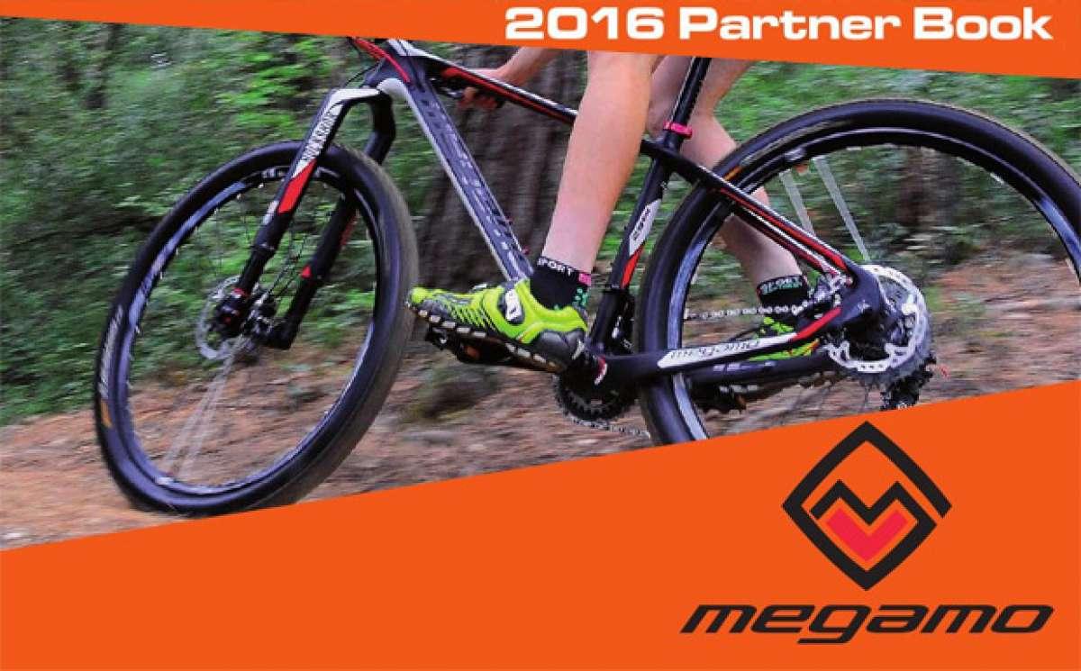 Catálogo de Megamo 2016. Toda la gama de bicicletas Megamo para la temporada 2016