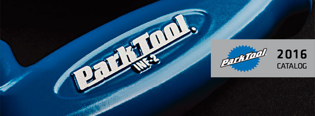Catálogo de Park Tool 2016. Toda la gama de productos Park Tool para la temporada 2016