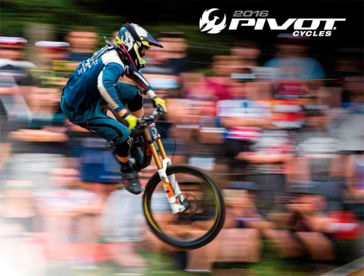 Catálogo de Pivot Cycles 2016. Toda la gama de bicicletas Pivot Cycles para la temporada 2016