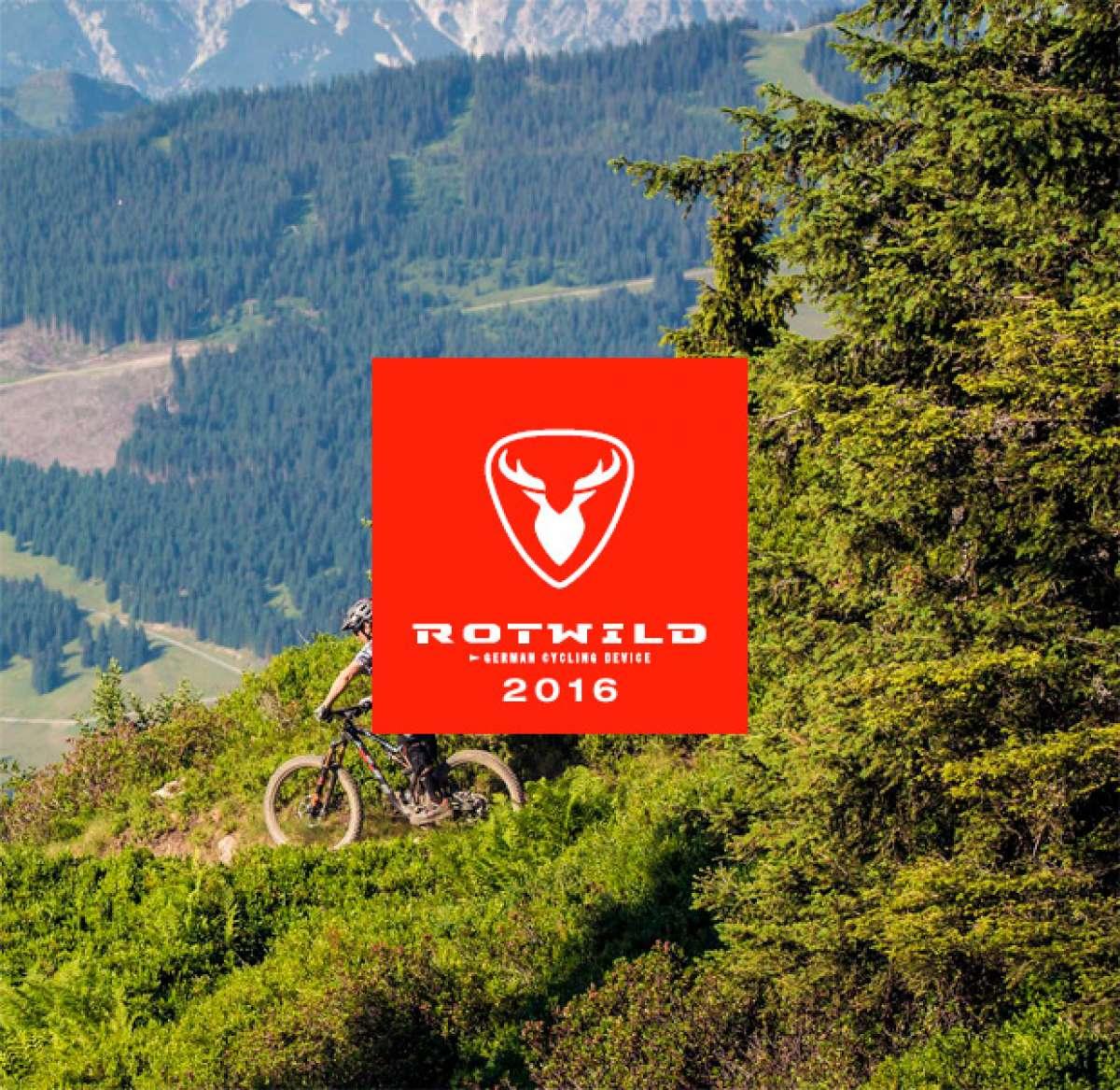 Catálogo de Rotwild 2016. Toda la gama de bicicletas Rotwild para la temporada 2016