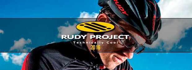 Catálogo de Rudy Project 2016. Toda la gama de equipamiento Rudy Project para la temporada 2016