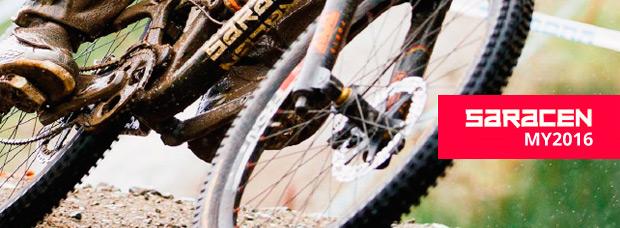 Catálogo de Saracen 2016. Toda la gama de bicicletas Saracen para la temporada 2016