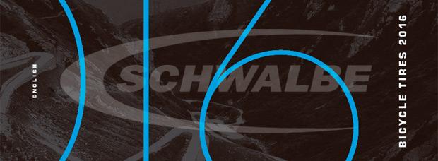 Catálogo de Schwalbe 2016. Toda la gama de cubiertas y accesorios de Schwalbe para la temporada 2016