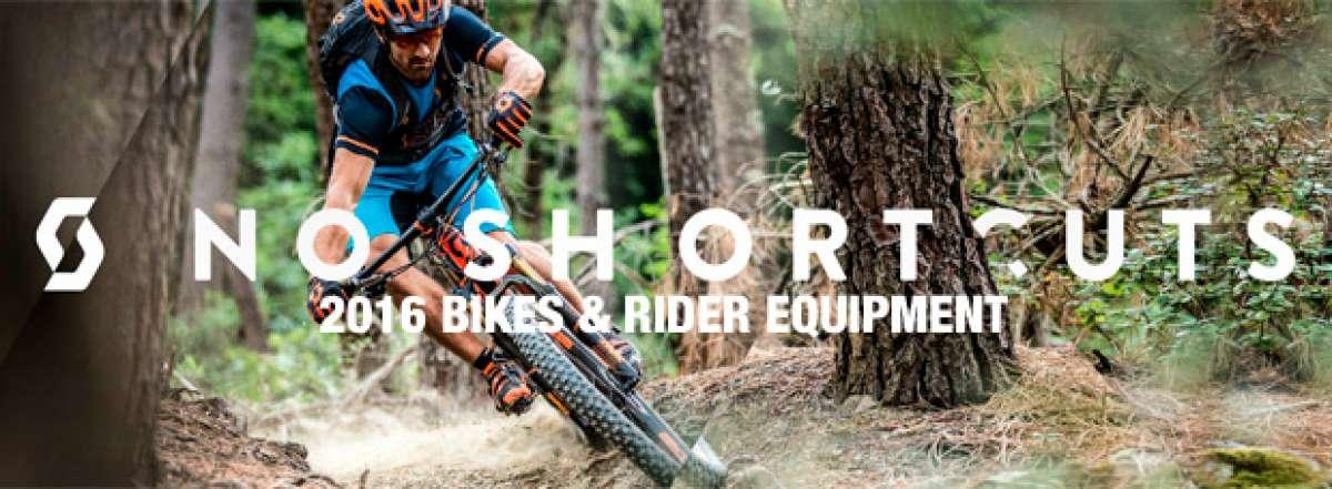 Catálogo de Scott 2016. Toda la gama de bicicletas Scott para la temporada 2016