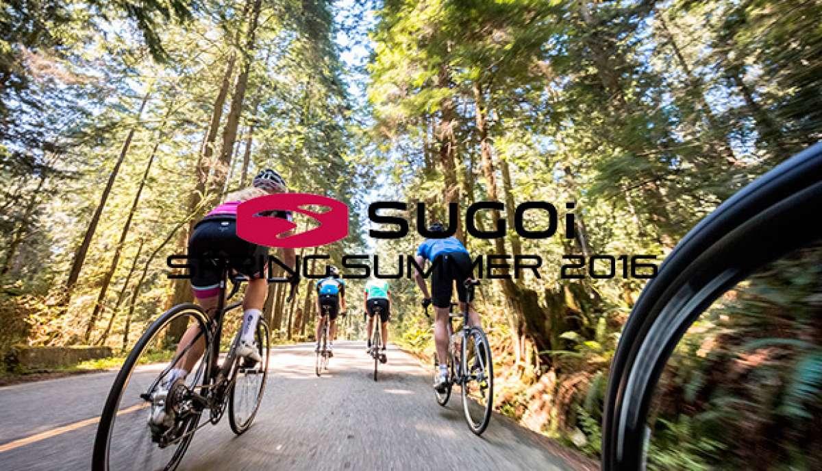 Catálogo de SUGOi SS 2016. Toda la gama de equipamiento SUGOi para la Primavera-Verano de 2016