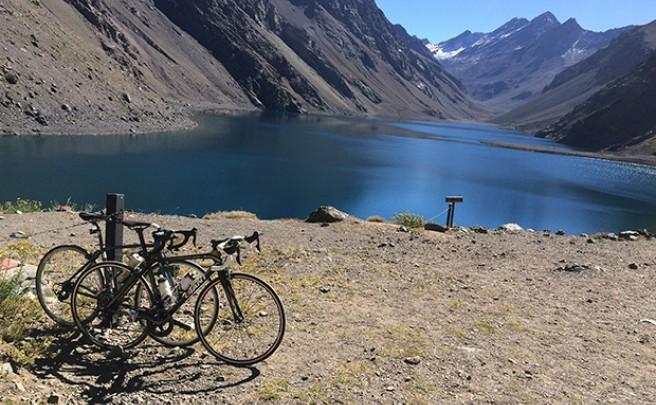 La foto del día en TodoMountainBike: 'Centro de esquí Portillo (Chile)'