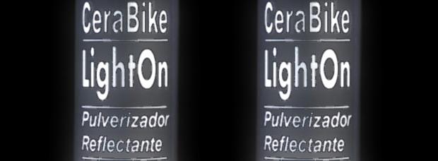 CeraBike LightOn, un pulverizador reflectante para mejorar nuestra visibilidad nocturna