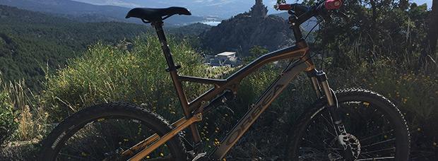 La foto del día en TodoMountainBike: 'Cerro de la Carrasqueta'