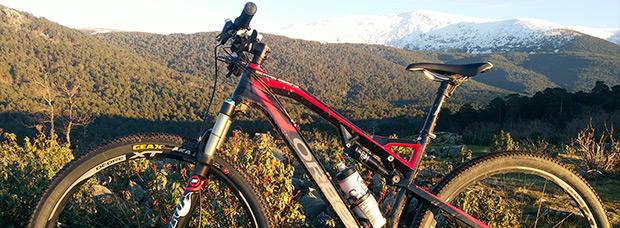 La foto del día en TodoMountainBike: 'El Cerro del Puerco'