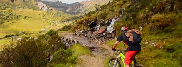 Explorando antiguos senderos incas en los Andes de Perú con Darren Berrecloth, Garrett Buehler y Chris Van Dine