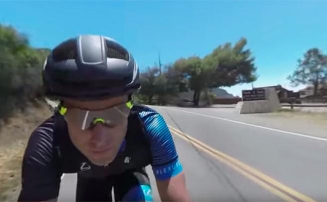 Rodando con Christian Vande Velde en un impresionante vídeo inmersivo de 360º