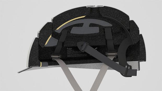 Closca Fuga, un interesante casco plegable para ciclistas urbanos