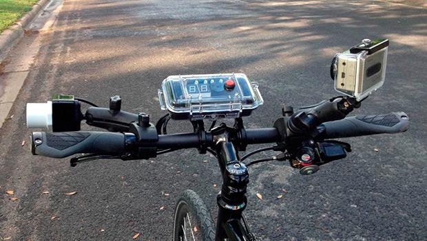 Codaxus C3FT, el radar de la policía de Tennessee para detectar adelantamientos peligrosos a los ciclistas