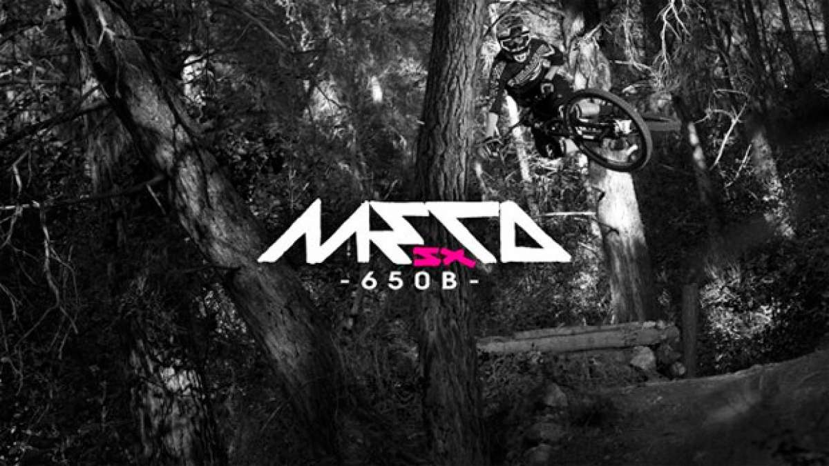 La nueva Commencal META SX 27.5 de 2015 en acción